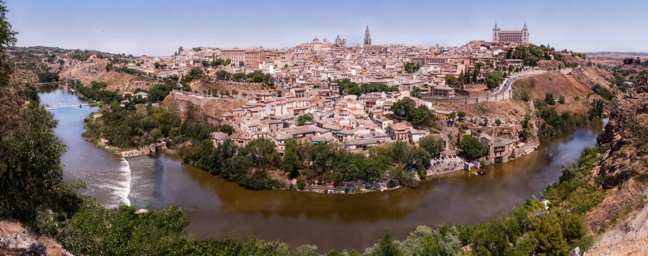 Toledo gigapanorámica
