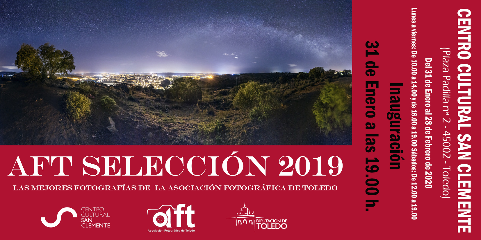EXPO SELECCIÓN 2019 EN EL CC. SAN CLEMENTE. TOLEDO.