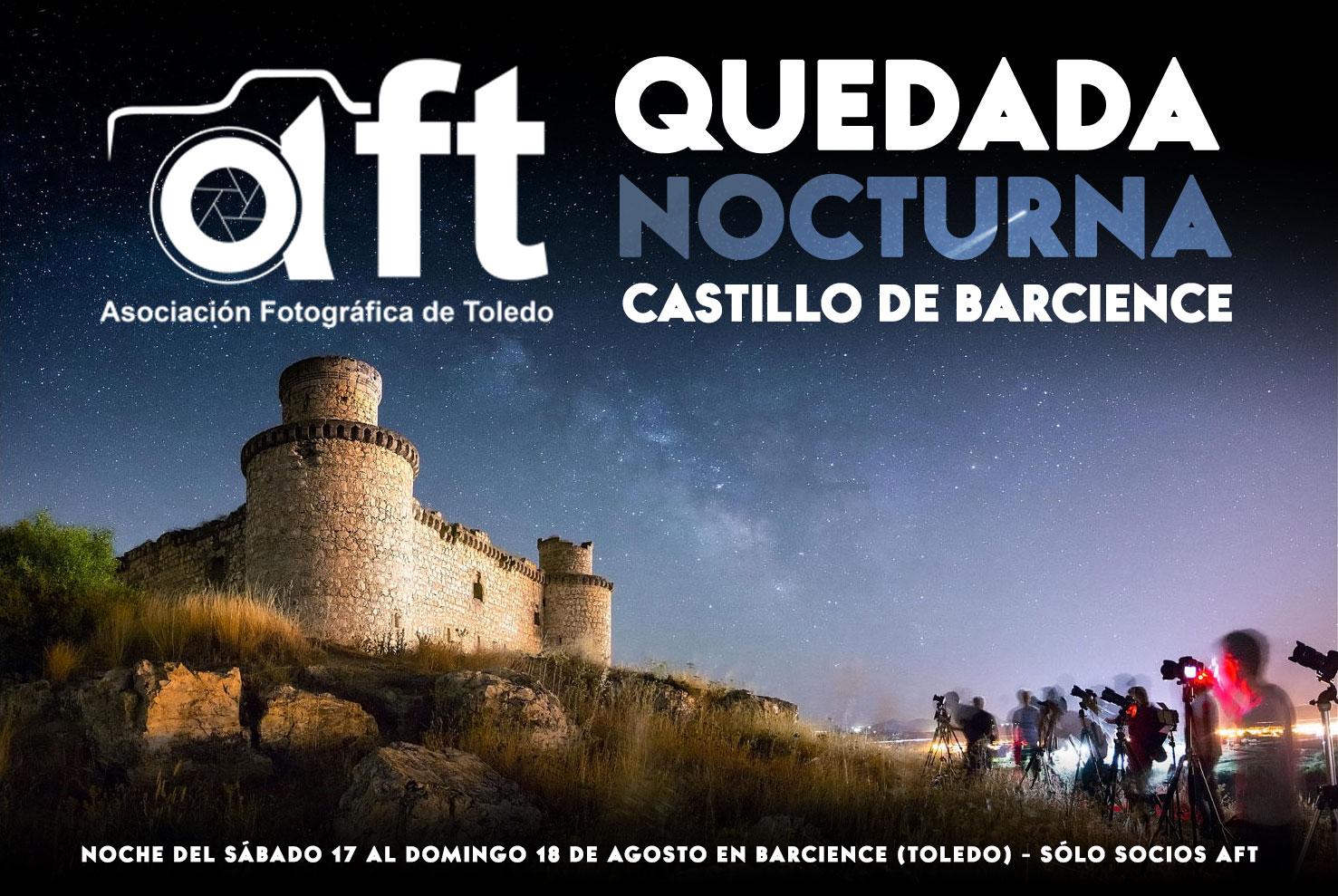 QUEDADA Nocturna Castillo de Barcience