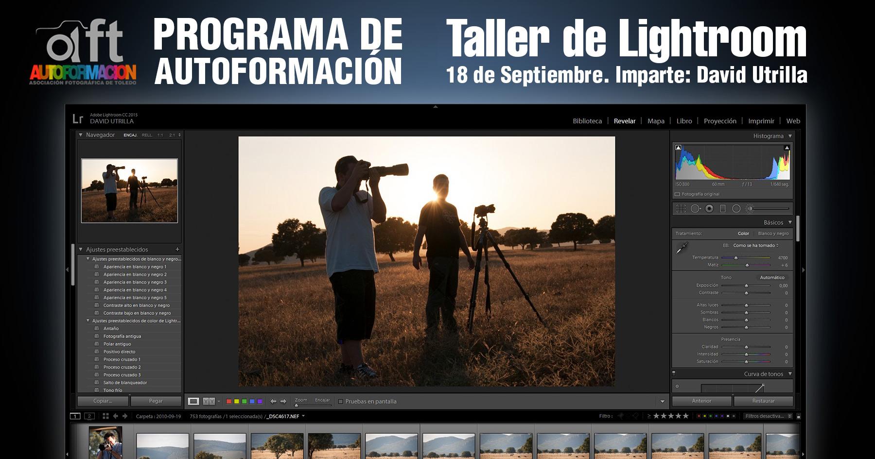 Taller de iniciación a la fotografía